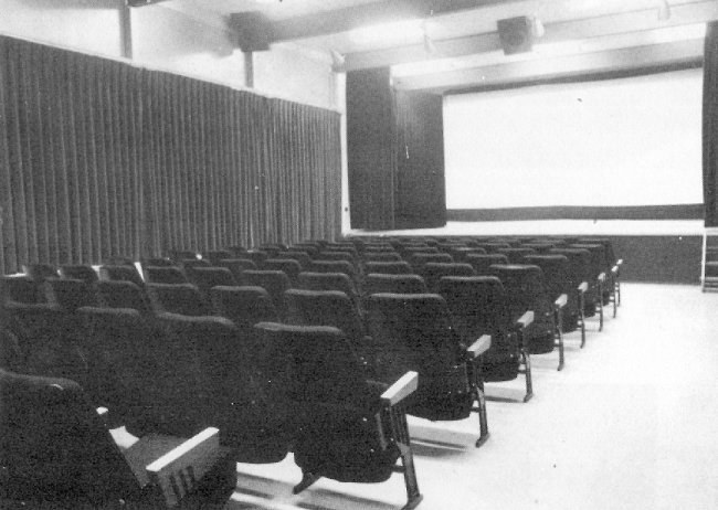 Photo: RCAF Moisie Movie Theatre in Recreation Centre