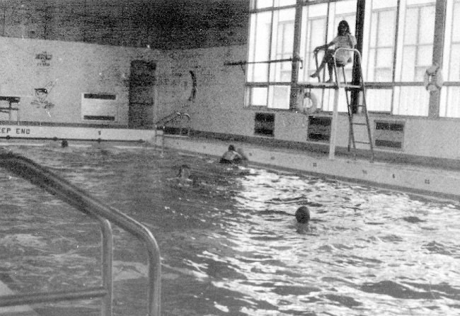Photo: RCAF Moisie Swimming Pool in Recreation Centre