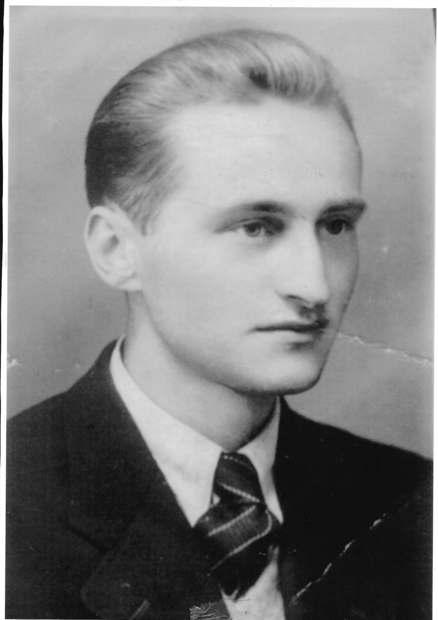 Józef Węglarz ps Maly  in 1952 at Age 30