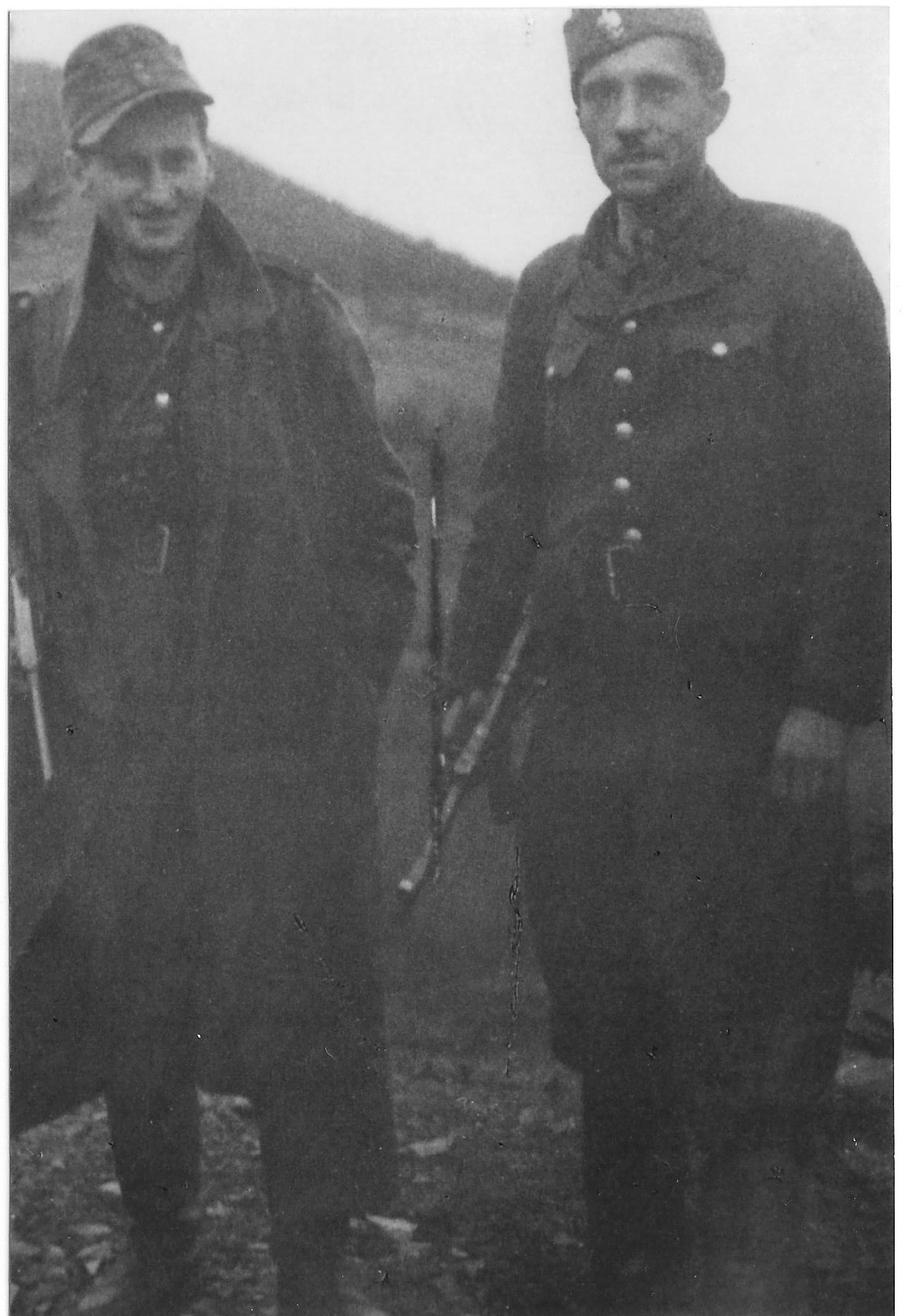 Photo: Maly and Sojka in 1944