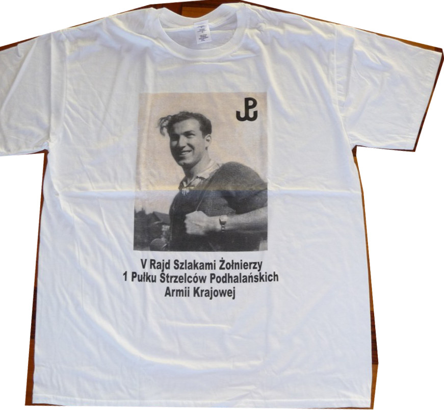 IMAGE of Hubert Brooks Commemerative T Shirt Front
