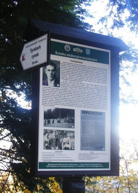 Image of Tymbark tourist-educational historical Information Panel 1