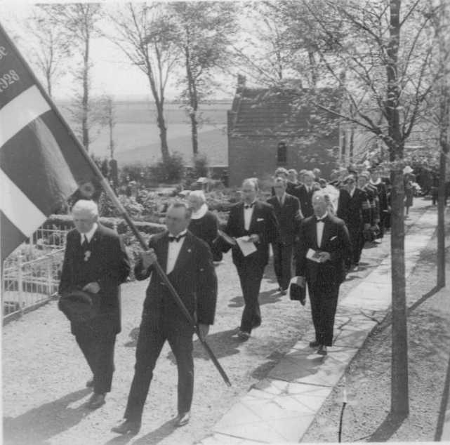 Photo 2 of Funeral of RAF Airman A.H. Hall