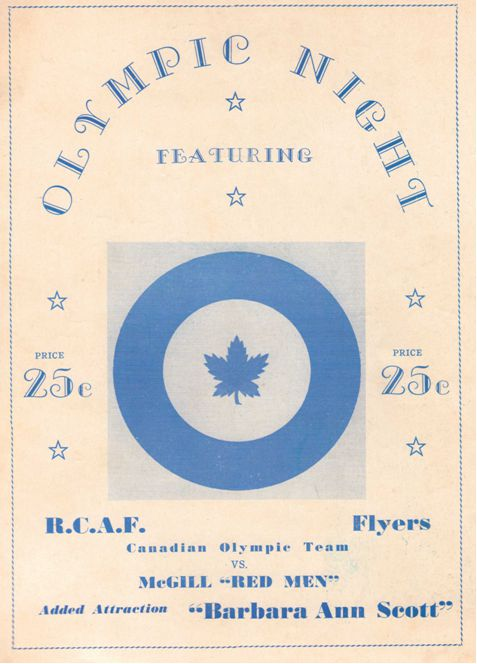 Photo: Olympic Night Program Cover