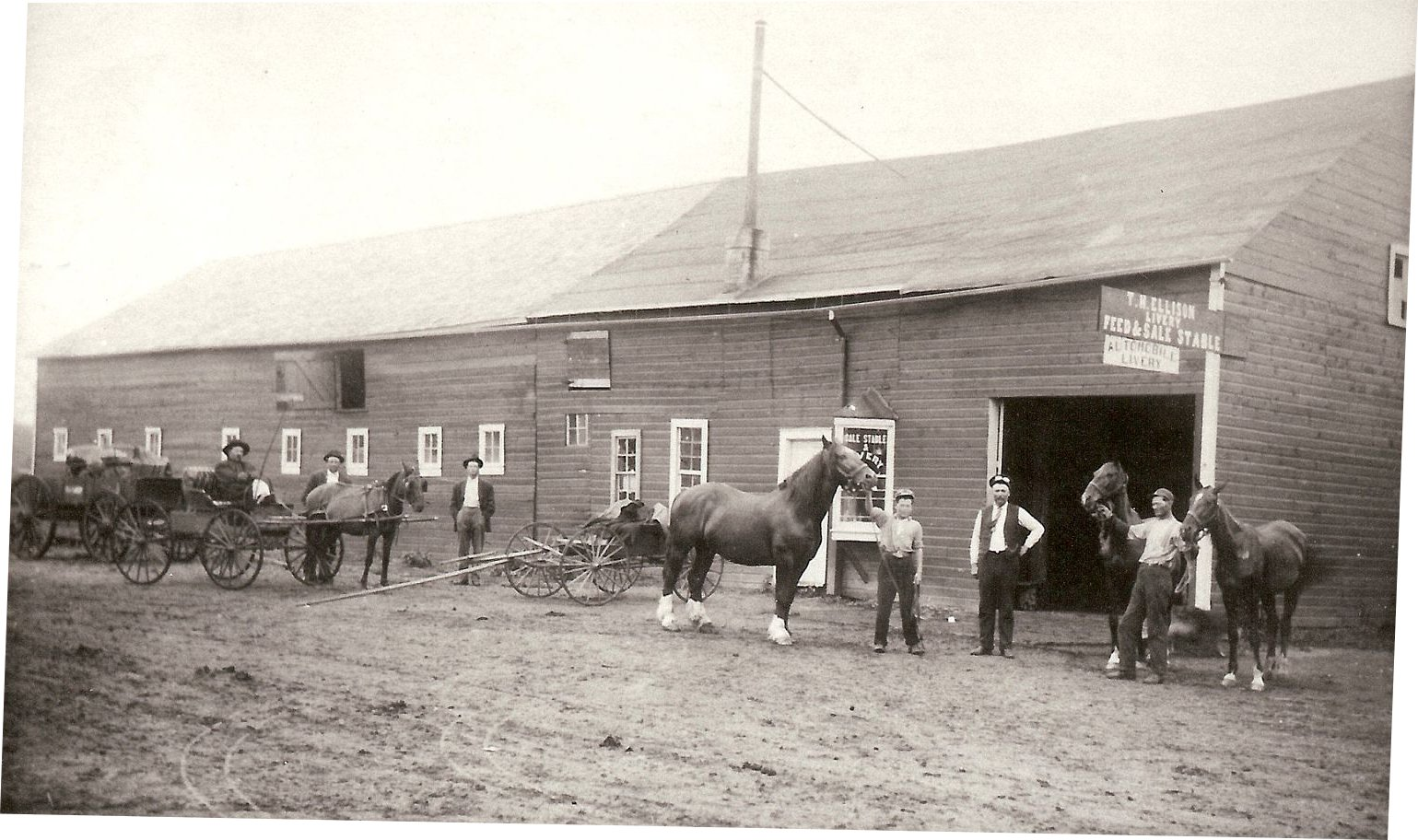 Image of Livery Stable St. John, ND