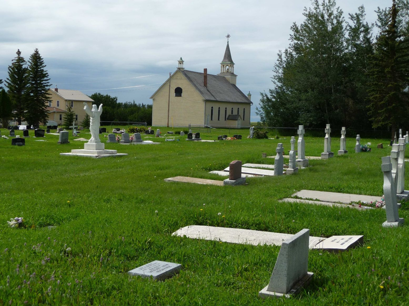 Friedenstal Catholic Cemetary and Church
