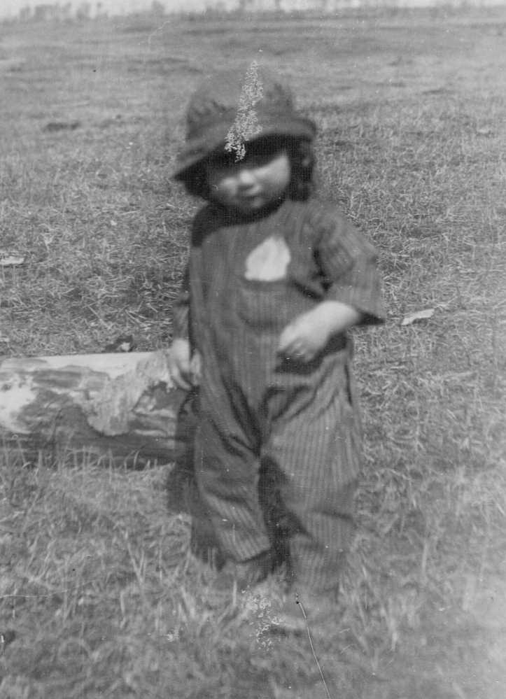 Hubert Brooks at 16 months April 23, 1923