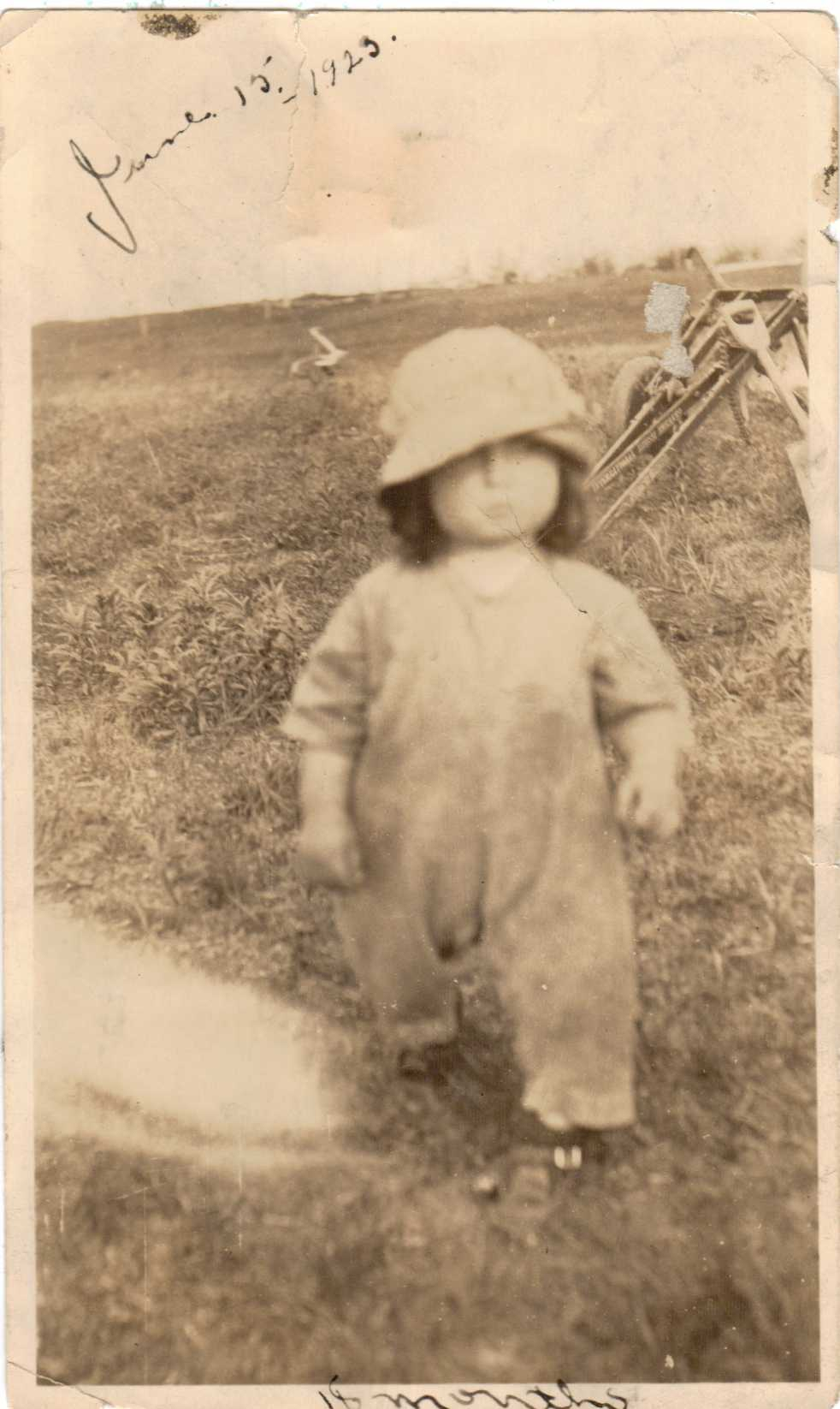 Hubert Brooks at 18 months JUne 15, 1923