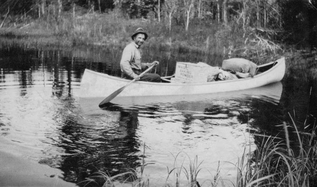 PHOTO 1 Alfred Brooks circa 1925–30  Northern Ontario/Quebec