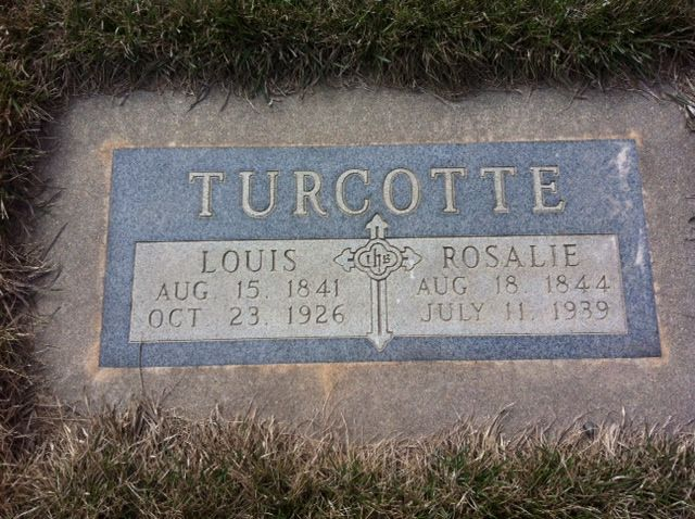 Lewis and Rosalie Turcotte