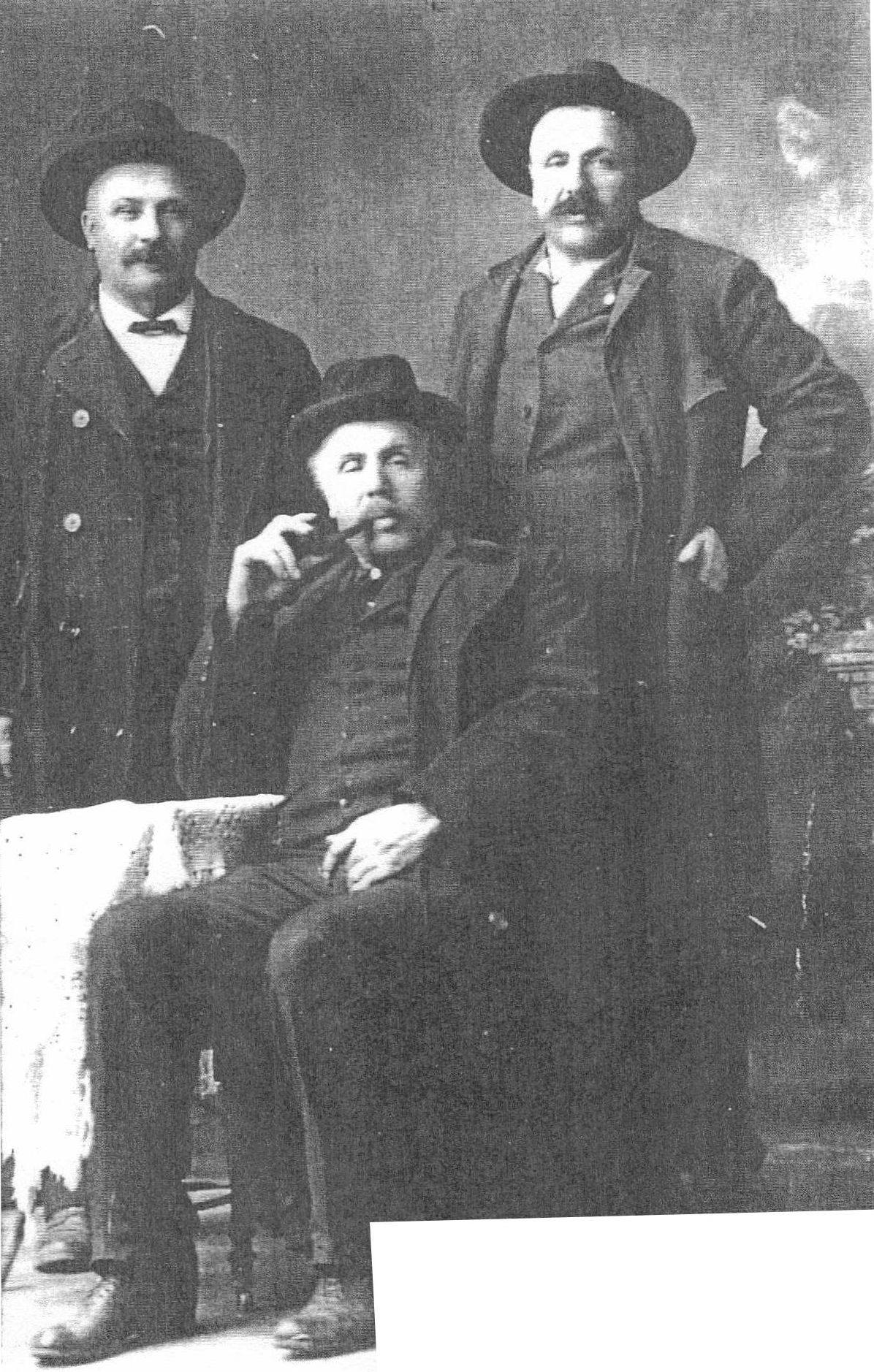 Grégoire Brothers Siffroid, Ephrine and Alphonse